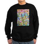 Pastel Leaves 1 Sweatshirt (dark)