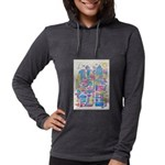 Peace City Womens Hooded Shirt