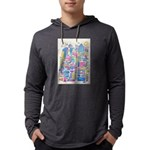Peace City Mens Hooded Shirt