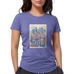 Peace City Womens Tri-blend T-Shirt