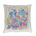 Peace City Everyday Pillow