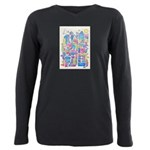 Peace City Plus Size Long Sleeve Tee