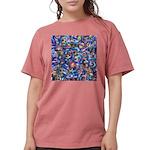 Star Swirl (ps) Womens Comfort Colors Shirt