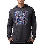 Star Swirl (ps) Mens Hooded Shirt