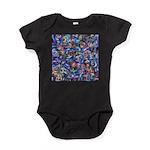 Star Swirl (ps) Baby Bodysuit