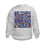 Star Swirl (ps) Kids Sweatshirt