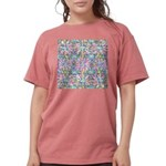 Pastel Bursts 2 Womens Comfort Colors Shirt