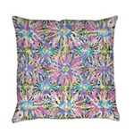Pastel Bursts 2 Everyday Pillow