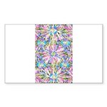 Pastel Bursts 2 Sticker (Rectangle 50 pk)