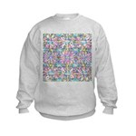 Pastel Bursts 2 Kids Sweatshirt