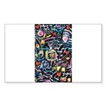 PS-Maze1 Sticker (Rectangle 50 pk)