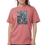 Curlies & D-fly Womens Comfort Colors Shirt