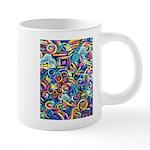 Curlies & D-fly 20 oz Ceramic Mega Mug