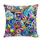 Curlies & D-fly Everyday Pillow