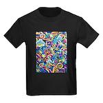 Curlies & D-fly Kids Dark T-Shirt