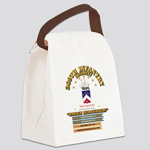 369th Infantry Regt Canvas Lunch Bag