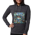 Garden Dove-2 Cavaliers Womens Hooded Shirt