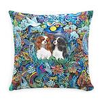 Garden Dove-2 Cavaliers Everyday Pillow