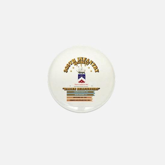369th Infantry Regt Mini Button
