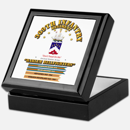369th Infantry Regt Keepsake Box