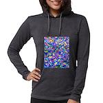 Abstract (AL)-1 Womens Hooded Shirt