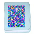 Abstract (AL)-1 baby blanket