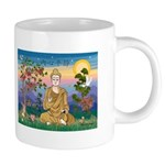 TILE-Buddah1-wordssayinnerpeace 20 oz Ceramic