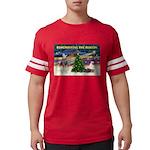 Remember-Christmas Sunrise Mens Football Shirt