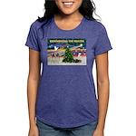 Remember-Christmas Sunrise Womens Tri-blend T-