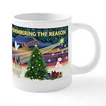 Remember-Christmas Sunrise 20 oz Ceramic Mega