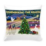 Remember-Christmas Sunrise Everyday Pillow