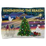 Remember-Christmas Sunrise Pillow Sham
