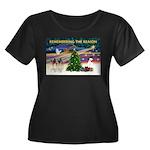 Remember-Christmas Sunrise Women's Plus Size S