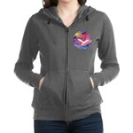 R-DoveAscending1 Women's Zip Hoodie