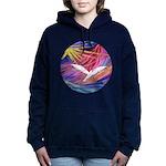 R-DoveAscending1 Women's Hooded Sweatshirt