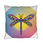 Dragonfly1 - Sun Everyday Pillow