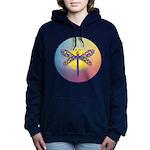 Dragonfly1 - Sun Women's Hooded Sweatshirt
