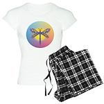 Dragonfly1 - Sun Women's Light Pajamas