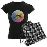 Dragonfly1 - Sun Women's Dark Pajamas