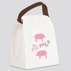 Pig Pals Canvas Lunch Bag