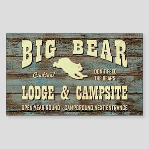 BIG BEAR LODGE Sticker