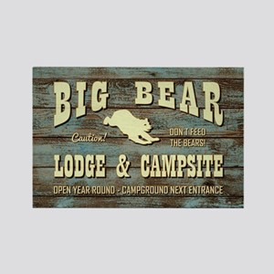 BIG BEAR LODGE Magnets