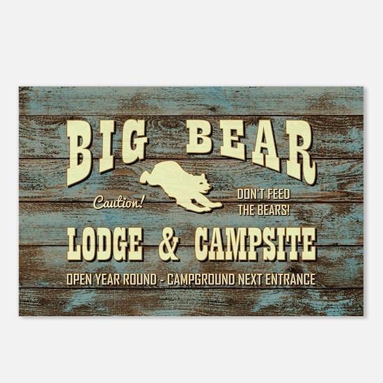 BIG BEAR LODGE Postcards (Package of 8)