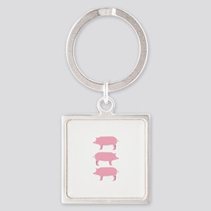 Pigs Keychains