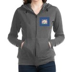 Night Angel 1 Women's Zip Hoodie