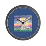 Night Angel 1 Wall Clock