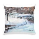 PILLOW-ESB-Winterscene Everyday Pillow