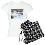 PILLOW-ESB-Winterscene Women's Light Pajamas