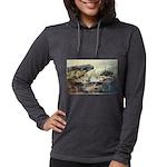 E75-TrellisBridge Womens Hooded Shirt