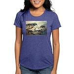 E75-TrellisBridge Womens Tri-blend T-Shirt